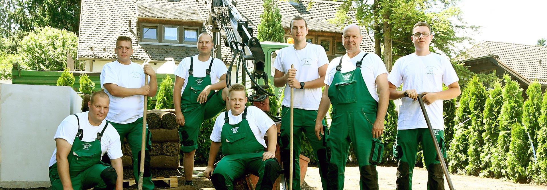 Team von Gartengestaltung Fischer